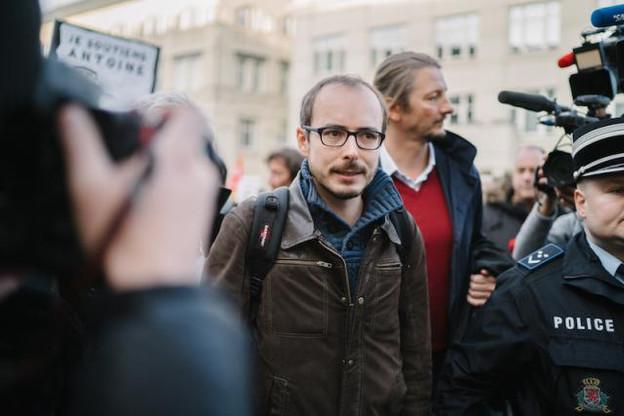 Antoine Deltour n'était pas lanceur d'alerte au moment du vol des fichiers selon l'avocat général. (Photo: Marion Dessard)