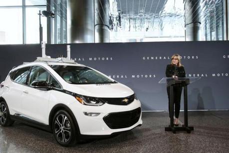 Mary Barra, présidente et directrice générale de General Motors. (Photo: General Motors)