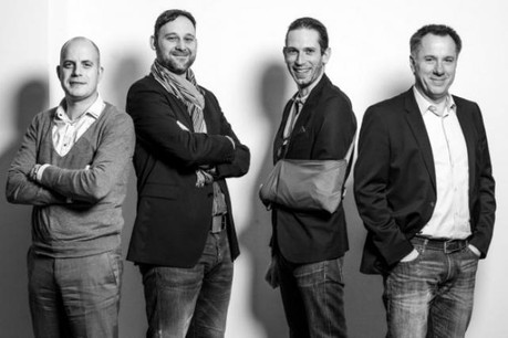 Philip Van Woensel, Vincent Jeunejean, Jérémy Coxet et Daniel Eischen (Photo: Julien Becker)