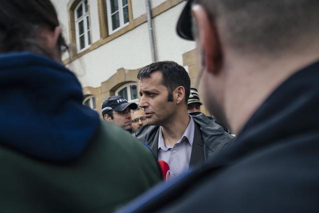Édouard Perrin ne s'est encore pas exprimé devant la presse, gardant le silence qui le caractérise depuis sa mise en examen en avril 2015. (Photo: Sven Becker)