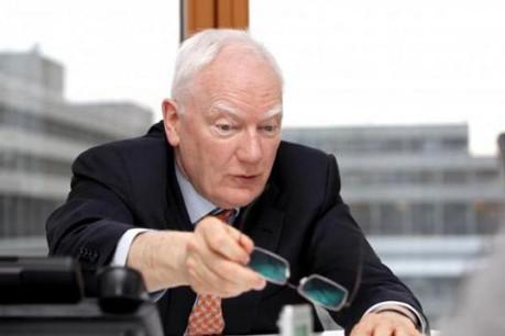 Philippe Maystadt : « Il ne faut pas nécessairement supprimer le système d'indexation. » (Photo : Olivier Minaire)
