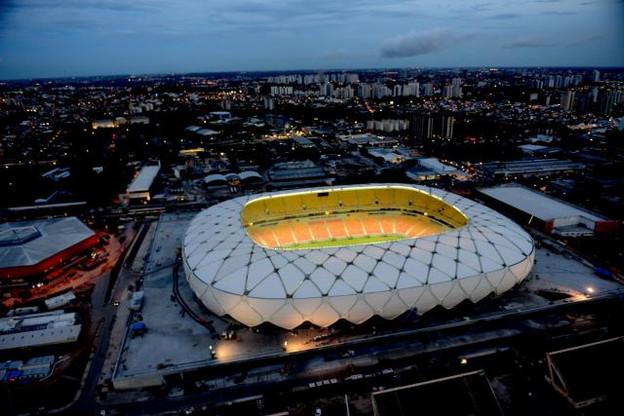 Les architectes du futur stade national ont pensé la conception du stade de Manaus utilisé lors de la dernière coupe du monde au Brésil. (Photo: Licence CC)