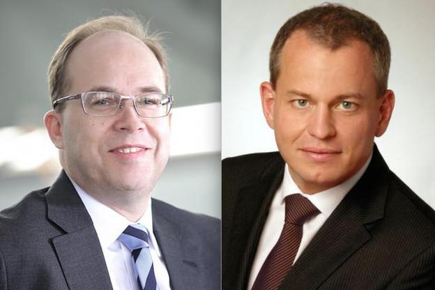 Frank Krings (à droite) devrait succéder à Boris Liedtke, qui a quitté la tête de Deutsche Bank Luxembourg à peine deux ans après être entré en fonction. (Photos: Luc Deflorenne / archives et DR)