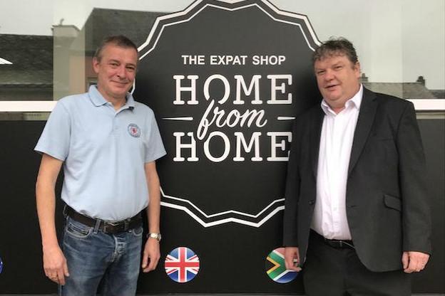 Mark Hollis et John Heffernan se sont associés pour ouvrir la boutique «Home from Home». (Photo: Maison Moderne