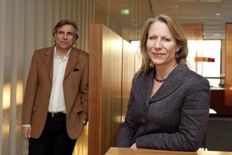 Christine Faucheur et Giorgios Bouronikos (People Primetime) (Photo : Olivier Minaire)
