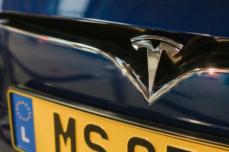 Les deux Tesla S qui doivent équiper la police grand-ducale ont été acquises pour quelque 100.000 euros l'unité. (Photo: Marion Dessard / archives)