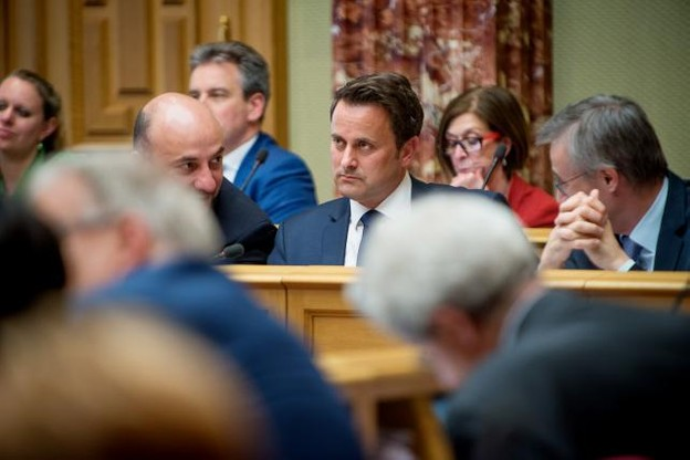 Xavier Bettel a dû s'expliquer devant les députés sur sa rencontre privée avec l'agent Kemmer. (Photo: Christophe Olinger)