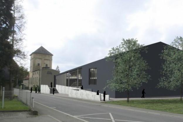 Le projet architectural maintiendra la volumétrie du bâtiment industriel existant. (Photo: © Holweck Bingen architectes)