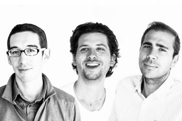 Kevin Mersch, Nilson Kufus et Vincent Pedrini, les 3 cofondateurs de Nomoko. (Photo: Microtis)