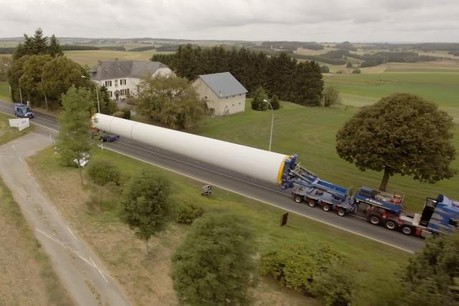 Les convois mesurent entre 55 et 68m de long et le plus léger pèse 16 tonnes. (Photo: Oekostroum)