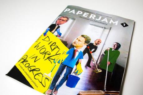 En cover de ce Paperjam 1 d'octobre 2015, les ministres dans des tenues de travail inhabituelles. Paperjam 1 s'est penché sur le boulot en cours. (Photos: Maison Moderne Studio)