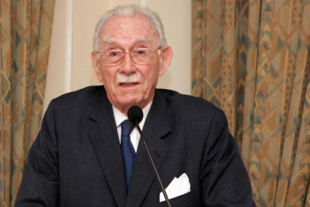 Carlo Clasen en 2009, lors des 25 ans du Cercle Munster qu'il avait co-fondé. (Photo: Luc Deflorenne)