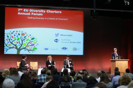 Comme l'ont rappelé les membres de différentes chartes lors d'un panel dédié à la promotion de la diversité, c'est du mélange que naît la créativité et l'innovation.  (Photo: Commission Européenne)