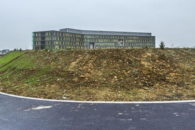 Malgré la dispute entre les actionnaires d'Olos, les développements continuent sur le Ban de Gasperich. (Photo: Gaël Lesure)