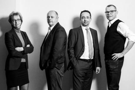 Carole de Samucewicz, Guy Kerger, Christian Welter et Raoul Thill (Photo: Julien Becker)