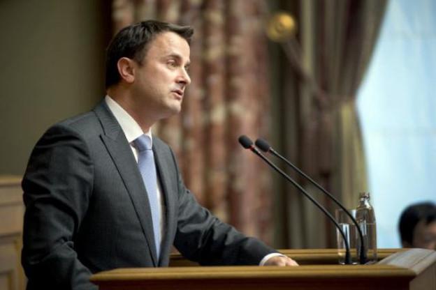 Une première pour Xavier Bettel devant les députés luxembourgeois.  (Photo: Christophe Olinger)