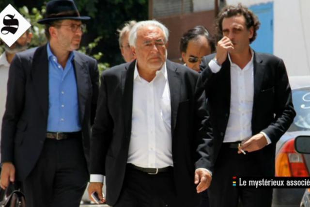 L'ancien partenaire Thierry Leyne (ici à gauche), qui s'est suicidé le 20 octobre, va-t-il porter le chapeau du naufrage de LSK? (Photo: Canal+)