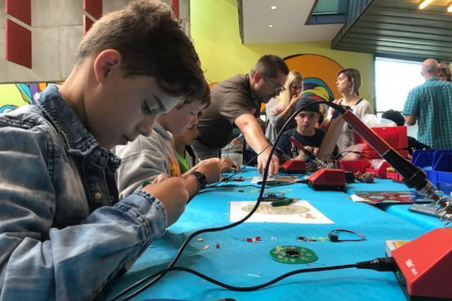 Si les makerspaces sont nombreux dans les lycées techniques, ils sont en revanche plus rares dans les lycées classiques. (Photo: DR)