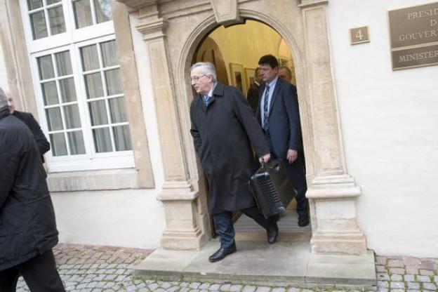 Juncker a quitté l'Hôtel de Bourgogne d'un pas alerte. Il a eu le temps d'en connaître les recoins et les coulisses. (Photo: Christophe Olinger)