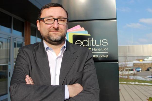 Pour Jérôme Guilmain, Editus doit aider à répondre aux différents besoins quotidiens des résidents luxembourgeois. (Photo: Editus)