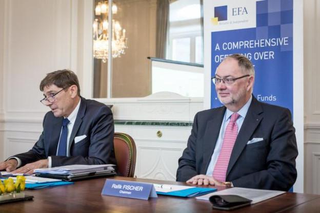 Tom Seale (CEO) et Rafik Fischer (président du conseil d'administration) misent sur le développement à l'international d'EFA. (Photo: Maison Moderne)