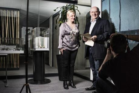 Martine et Marcel Ehlinger sont à la tête du management du groupe Schuler. (Photo: Maison Moderne)