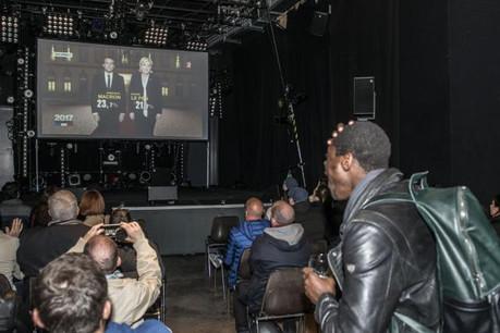 François Fillon des Républicains (droite) arrive en troisième position avec 19,9% des votes.  (Photo: Anthony Dehez)