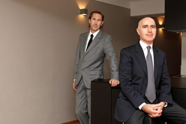 Pascal Meier et Thomas Ormon «Bien connaître ses  partenaires ou  collaborateurs, donc les hommes, reste un facteur capital.»  (Photo : Olivier Minaire)