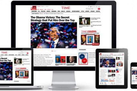 Demain, les entreprises qui le souhaitent auront un seul et unique contenu pour l'ensemble des supports. (Photo : Vanksen/ Time Magazine)