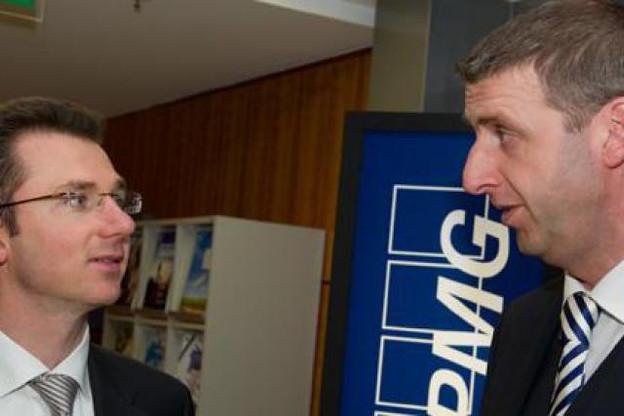 Vincent Köller et Jean-Pascal Nepper (KPMG Advisory) (Photo: Charles Caratini)