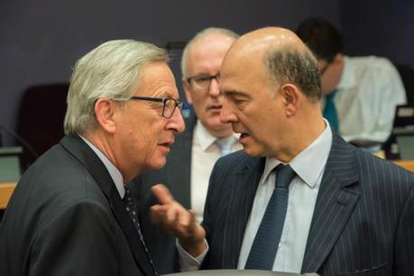 Jean-Claude Juncker a chargé Pierre Moscovici de plancher sur un projet de directive visant à l'échange automatique rulings entre États. (Photo: Commission Européenne)