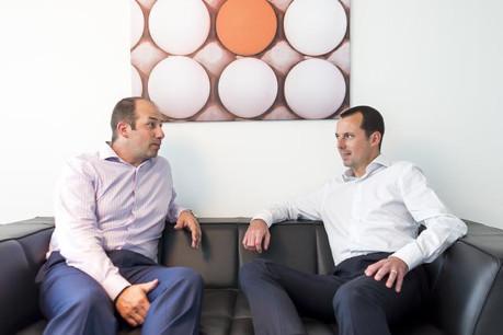 Manuel Mouget et Christophe Gaul resteront à la tête de l'activité d'Headstart, renommé Estera, à partir de septembre 2017, selon les informations publiées mardi. (Photo: Headstart)
