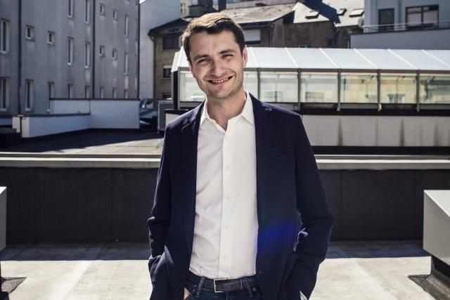 Pour Charles-Antoine Beyney qui est parti pour la Californie ce week-end, cette nomination permettra de gagner en visibilité auprès d'investisseurs, mais aussi d'étendre la base de clients. (Photo: Mike Zenari)
