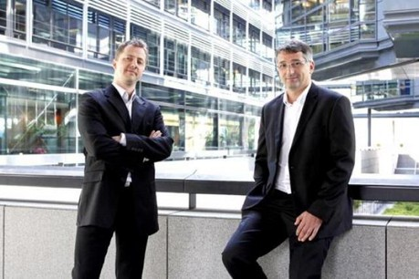 Fabrice Dewasmes et Emmanuel Valentin (NeoPixl) (Photo: Olivier Minaire)