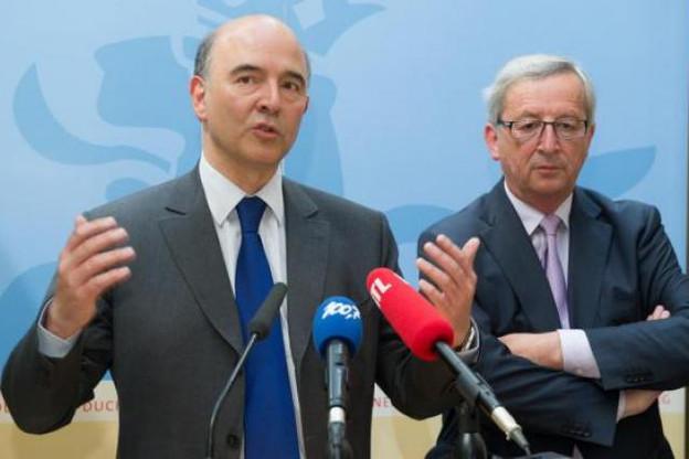 Fin mai, Pierre Moscovici s'était montré favorable à un nouveau mandat de Jean-Claude Juncker. (Photo : Charles Caratini / archives)