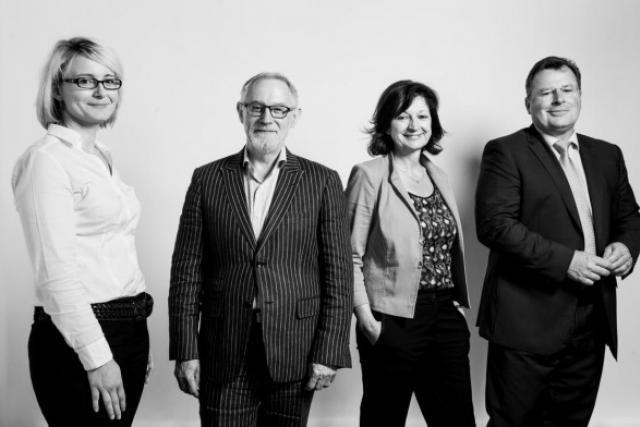 Sylvia Ridlesprige, Fernand Wolter, Christiane Hoffmann, Bruno Renders (Photo: Julien Becker)
