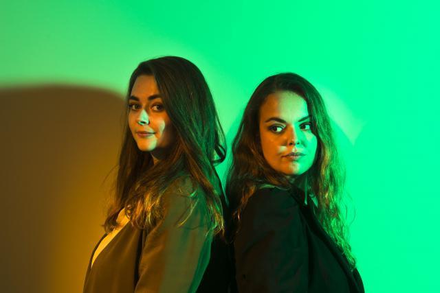De gauche à droite: Ilana Devillers et Xénia Ashby. (Photo: Maison Moderne)