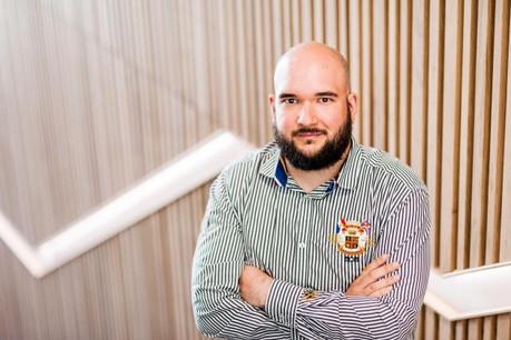Guillaume Castillo a mené un projet de refonte complète de l'infrastructure.  (Photo: Post Luxembourg)