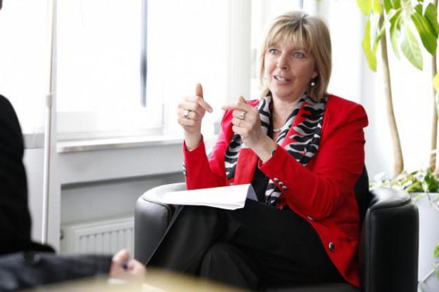 Pour la ministre Françoise Hetto-Gaasch, les fermetures observées résultent de pratiques commerciales agressives. (Photo: Olivier Minaire / archives)