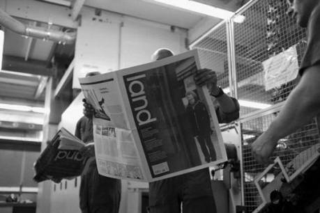 Romain Hilgert : « Nous voulons que cette singularité saute aux yeux dans les kiosques. » (Photo : d'Land)