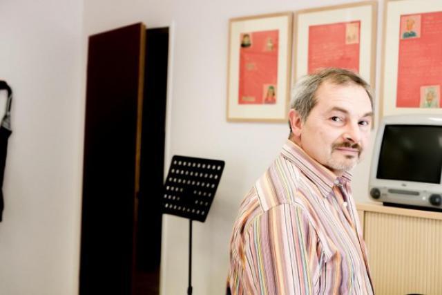 Franco Barilozzi, directeur du Comité de liaison des associations d'étragers (Clae). (Photo: Jessica Theis)