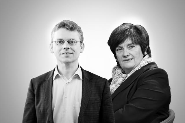 L'avis de Muriel Bouchet et de Michèle Detaille au sujet de la valeur actuelle de l'euro diffère. (Photo: Maison Moderne)