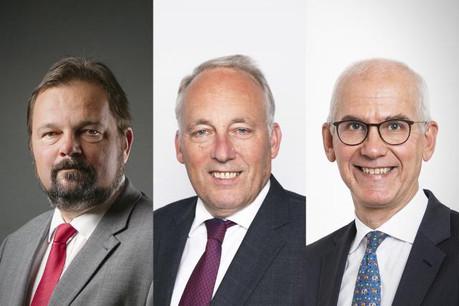 Charles Muller, avocat et directeur indépendant, Jacques Elvinger, d'Elvinger Hoss Prussen et Marc-André Bechet, Directeur Legal & Tax pour l'Alfi. (Photo: Maison Moderne)
