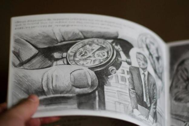 Stay Behind, le livre de dessins de Filip Markiewicz avait marqué les esprits à l'automne dernier.  (Photo: Laurent Antonelli)