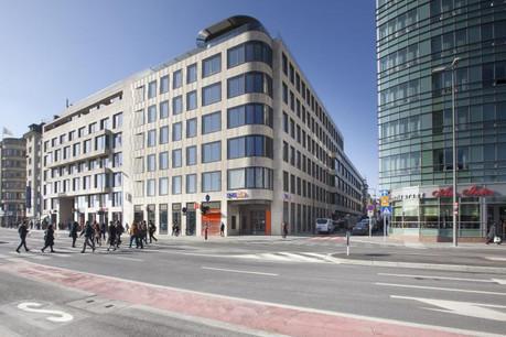 La totalité des espaces de bureaux est occupée par les 700 collaborateurs de la banque. (Photo: Immobel)