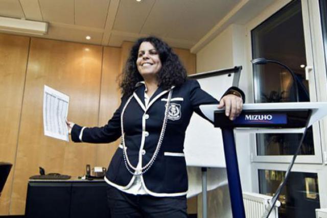 Jennifer Cunningham (Mizuho Trust & Banking) (Photo : Andrés Lejona)