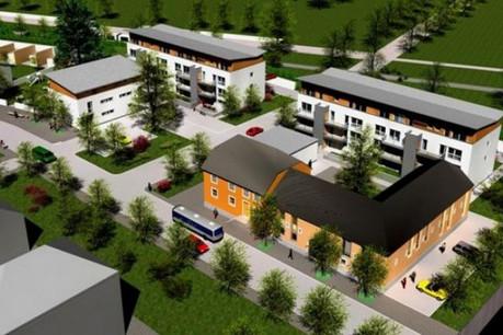 Un projet du Fonds du logement à Colmar Berg. (Illustration: FDL)