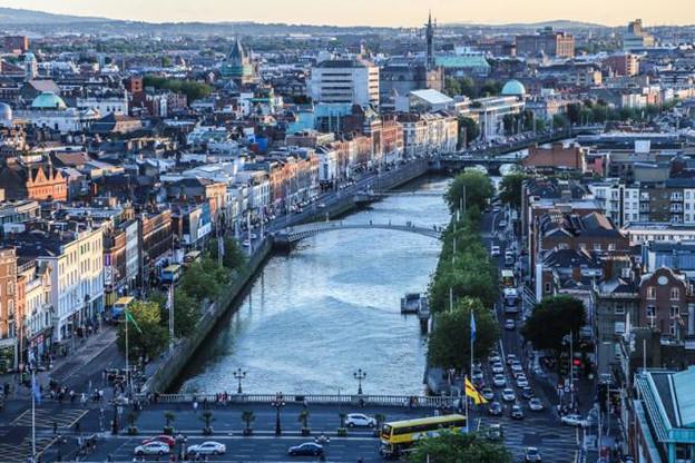 Le centre financier de Dublin a été particulièrement en verve au dernier trimestre 2016. (Photo: Licence CC)