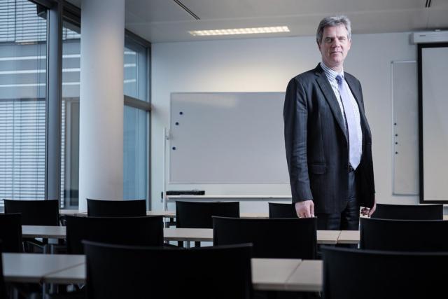 Julian Presber: «La plupart de nos étudiants restent ensuite au Luxembourg.» (Photo: Julien Becker)