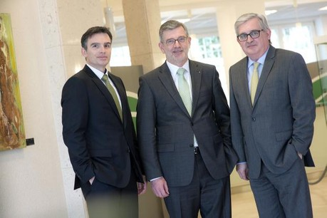 Jerry Grbic, André Poorters et Charles Wagener. (Photo: Christophe Olinger)